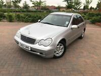 2003/03 MERCEDES C180 K CLASSIC SE AUTOMATIC VERY LOW MILEAGE 2 OWNERS