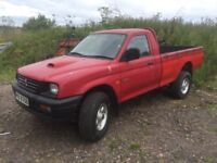 *** Mitsubishi l200 1998 swap px car van ****