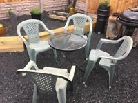 Garden / Camping Set Table & Chairs