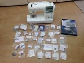 Brother Innovis 55 Sewing Machine & Accessories