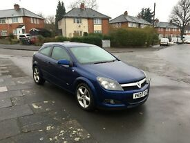 Vauxhall Astra 1.7 CDTI SRI 2 doors 2007 excellent condition