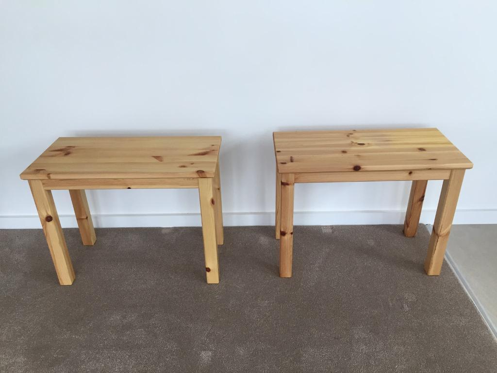 Pair Of Ikea Nornas Side Tables In Balsall Common West Midlands