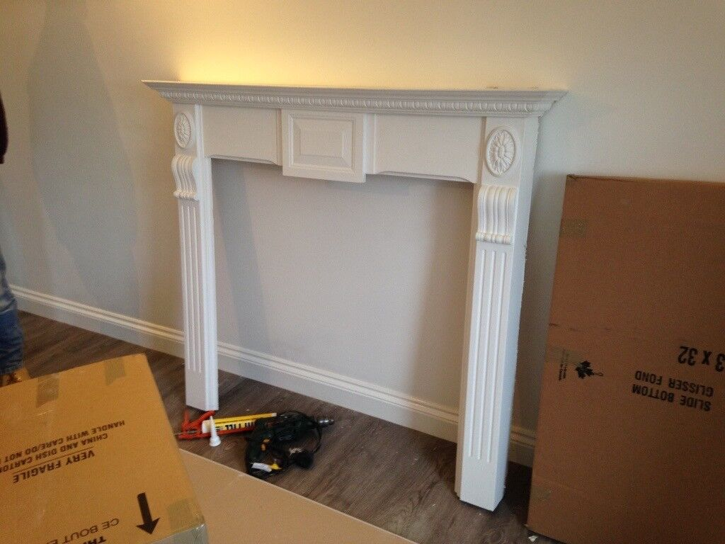 Fire surround, back and hearth