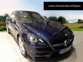 Mercedes-Benz SLK SLK200 BLUEEFFICIENCY AMG SPORT (blue) 2013-09-20
