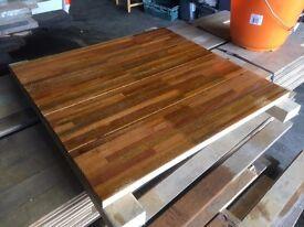 Reclaimed hardwood Teak/Mahogany flooring boards