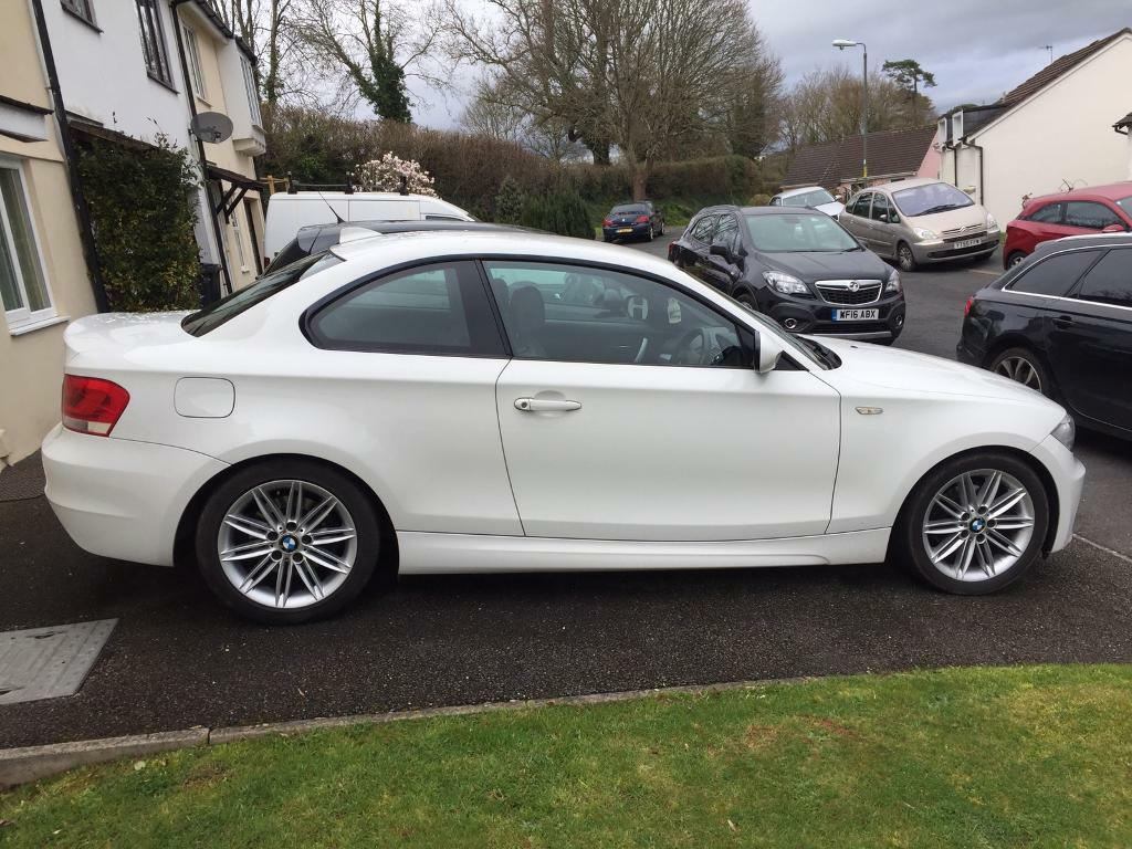 bmw 1 series coupe m sport excellent condition in torquay devon gumtree. Black Bedroom Furniture Sets. Home Design Ideas