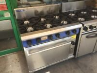 BLUESEAL GAS COOKER UNDER OVEN CATERING COMMERCIAL KITCHEN FAST FOOD RESTAURANT SHOP TAKE AWAY