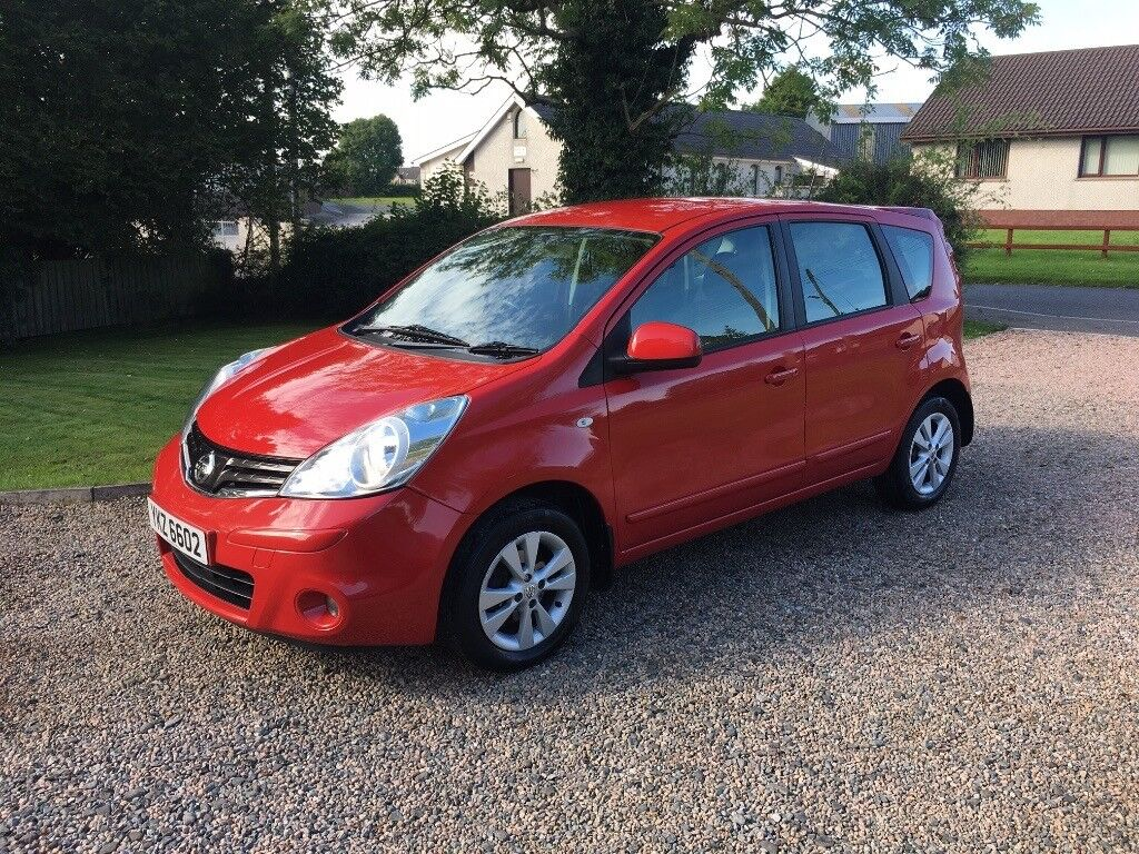 2010 NISSAN NOTE 1.5 DCI ACENTA - FULLY SERVICED - HIGH MPG -