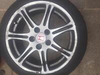 Honda type r alloys