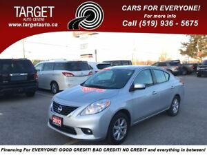 2012 Nissan Versa 1.6 SV,4 Cyl Great on Gas,Mint Condition  !!!
