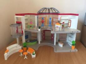 Playmobil 5485 city life shopping mall with lift