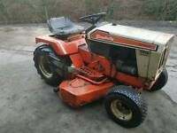 Simplicity mini tractor ride on mower and plough