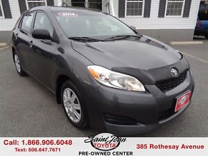 2014 Toyota Matrix $105.21 BI WEEKLY!!!