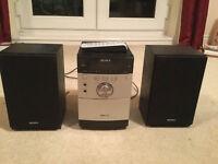 Sony Hi-Fi with CD Player, DAB Radio includes Remote Control