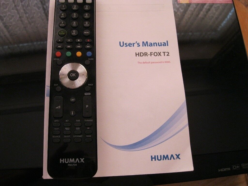 HUMAX HDR-FOX T2 Freeview+ Recorder Box | in Bournemouth, Dorset | Gumtree