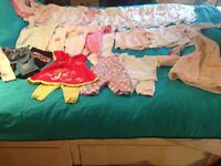 Baby girls 0-3 month clothes