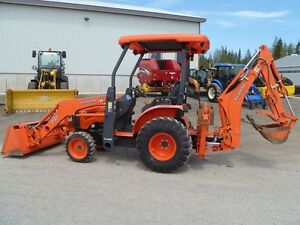 2009 Kubota B26 Tractor Loader Backhoe
