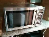 Stainless steel Microwave, Grill and convection Oven