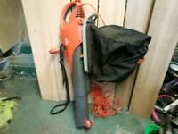 Flymo leaf blower/vacuum 3000 watts