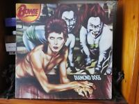 David Bowie Diamond dogs LP.