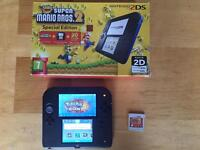 2ds with Pokemon sun £55