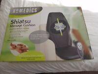HomeMedics Shiatsu Massage Cushion like new