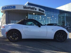 2016 Mazda MX-5 GS 2-DR CONVERTIBLE, 6-SPEED MANUAL, 1 OWNER