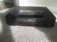 JVC HR-J205EK video cassette recorder plus remote
