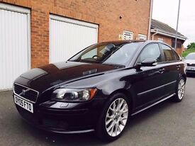 2005 05 Volvo S40 Sport 2.0 Turbo Diesel 95k+FSH+Full Leather+Sunroof not vectra passat 2.0 1.9 tdi