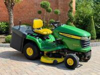 """John Deere X300R Ride on mower - 42"""" deck - lawnmower - Tractor / Kubota / Toro"""