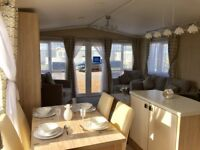 BRAND NEW CARAVAN ON STUNNING SEA VIEW PITCH ON NORTHUMBERLAND COAST. NO SITE FEES TILL 2019x