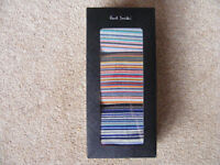 Socks - mens Paul Smith Signature Stripes - 3 pack - NEW