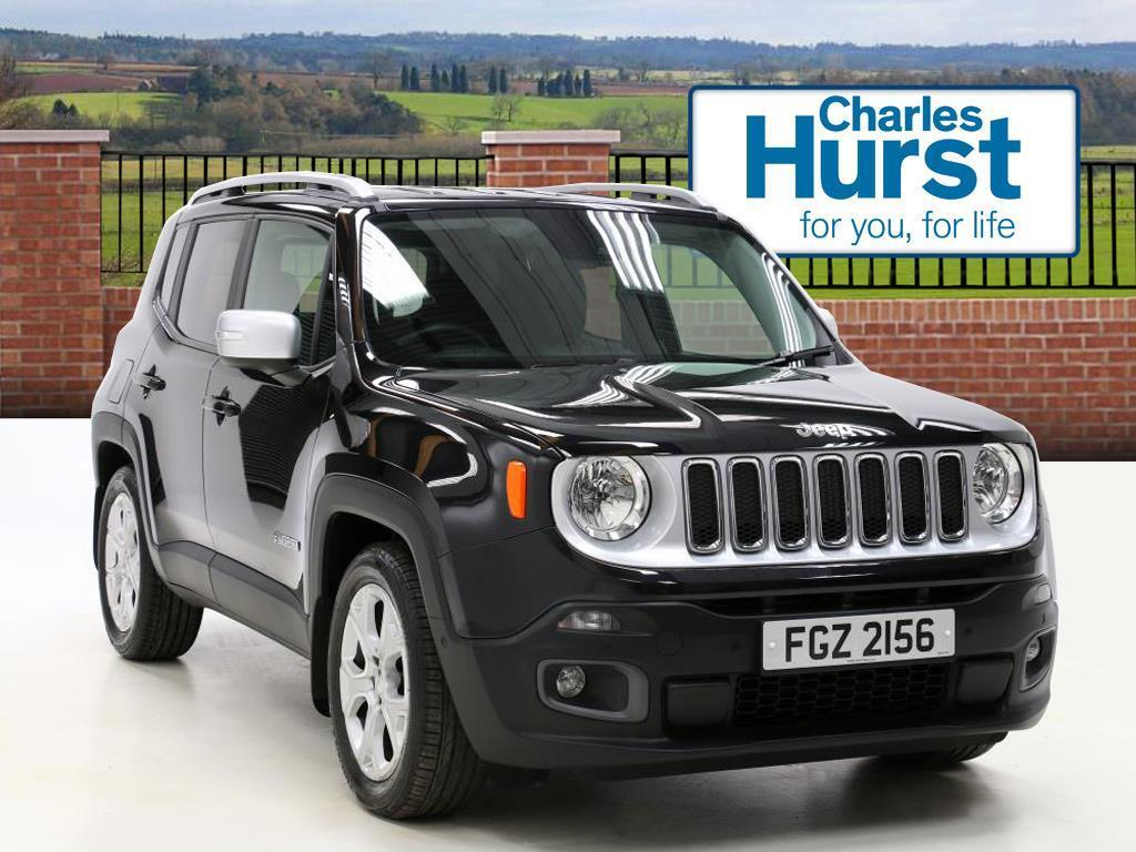 Jeep Renegade M Jet Limited Black 2017 03 31 In County