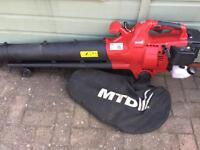 Garden Leaf Blower Vacuum