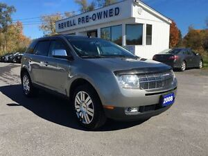 2008 Lincoln MKX AWD...Moonroof, Leather bkts/console, Nav, Chro