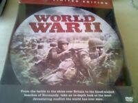 World War 2 DVDs.