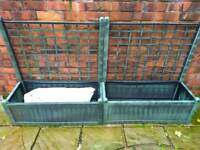 Two Planters & Compost