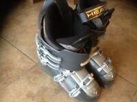 ski boots head brand mens size 8 half 9 very good condition