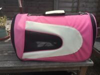 Fold up, Pet Carrier - Suitable Cat, Rabbit or Small Dog