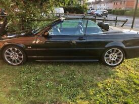 BMW 330ci Convertible Sport Auto Black Faultless New MOT 123K Miles