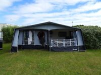 Issabella Forum 975 Awning. Carbon fiber poles. 2007 in fantastic condition. Inc bedroom annex