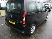 2014 14 PEUGEOT PARTNER 1.6 HDI TEPEE S 5D 92 BHP***GUARANTEED FINANCE***PART EX WELCOME***