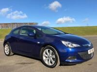 VAUXHALL ASTRA 1.4 GTC SPORT S/S 3d 138 BHP IMMACULATE THROUGHOUT, LOW MILEAGE (blue) 2014