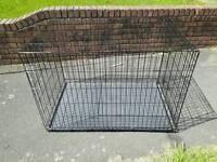 "Dog Animal Cage Very Big 46"" Long / 30"" Wide / 32"" High"