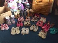 Girl toddler size 5 shoe bundle
