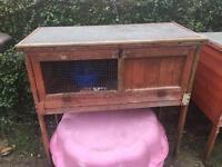 Rabbit / Guinea pig hutches