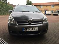 Toyota COROLLA VERSO SPRIT AUTO - REAR SCREENS, T SPRIT TOP OF THE RANGE