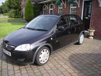 2006 Corsa Design 1.2 twinport lady owner.61k miles from new.