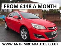 2014 VAUXHALL ASTRA 1.4 SRI ** 49,000 MILES ** SERVICE HISTORY ** FINANCE AVAILABLE WITH NO DEPOSIT