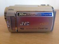 Camcorder JVC Everio HDD Hard Disc. Excellent condition. Used few times only.